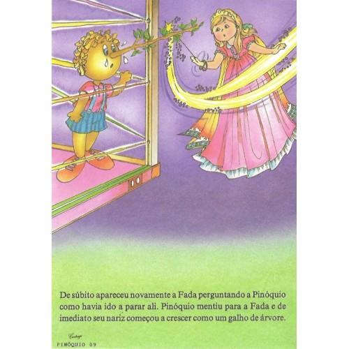Papel de Carta CARTIUGE Personagens Pinóquio 09