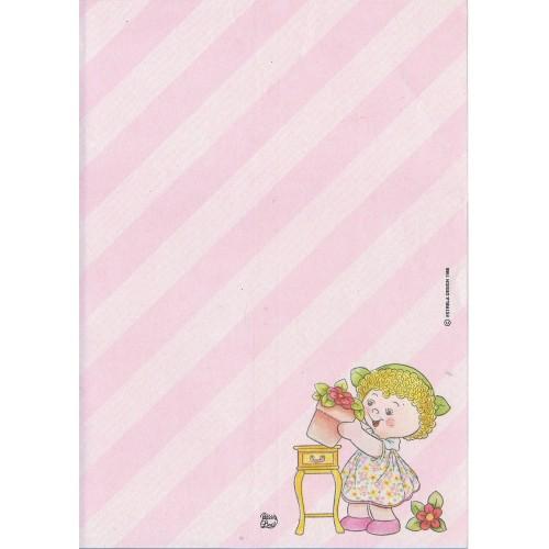 Papel de Carta AVULSO Coleção Palacio's Line Menina Flor (CRS3)