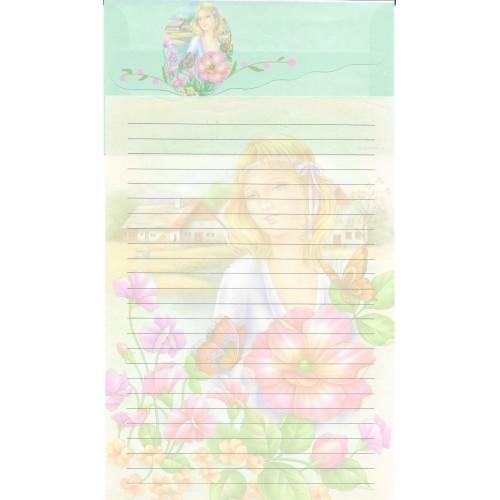Conjunto de Papel de Carta Antigo Importado LP18011 B YANG