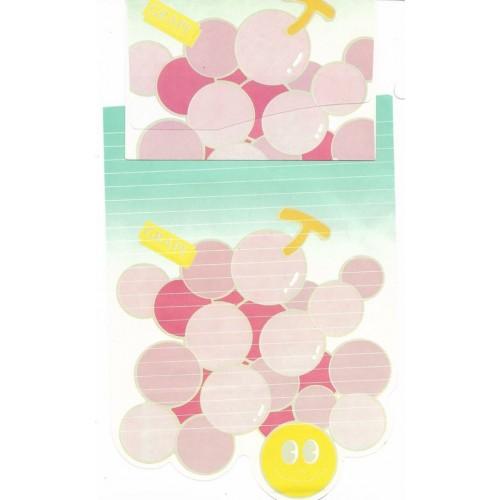 Conjunto de Papel de Carta Antigo Grape - Yau-Lin