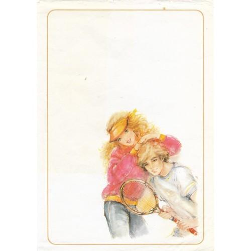 Papel de Carta Antigo Coleção Miss Sprite 01M C1