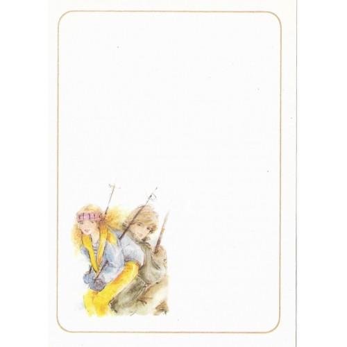 Papel de Carta Antigo Coleção Miss Sprite 04MINI C1