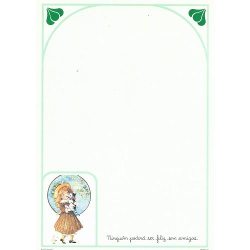 Papel de Carta July Pop D-10