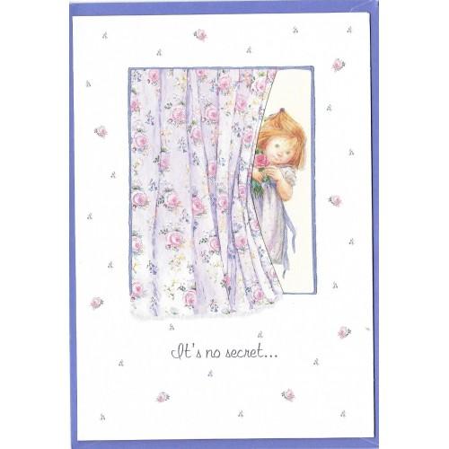 Notecard com Envelope Importado Lisi Martin - Happy Birthday 01