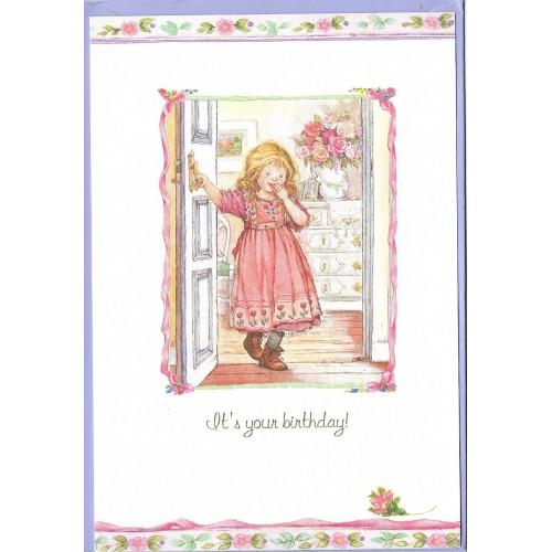 Notecard com Envelope Importado Lisi Martin - Happy Birthday 02