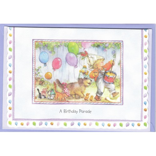Notecard com Envelope Importado Lisi Martin - Happy Birthday 03
