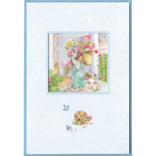 Notecard com Envelope Importado Lisi Martin - Happy Birthday 04