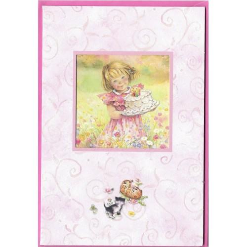 Notecard com Envelope Importado Lisi Martin - Happy Birthday 06