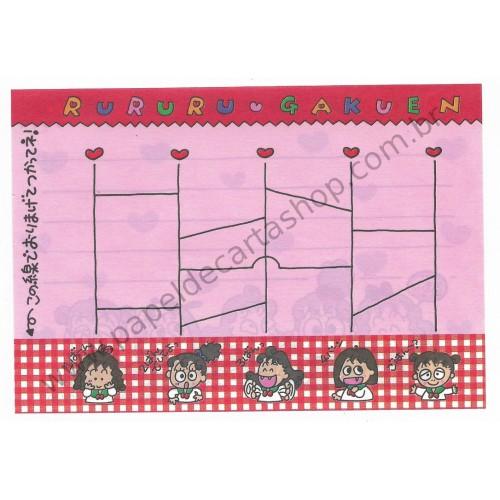 Ano 1992. NOTA MEMO RuRuRuGakuen Good Times - Sanrio