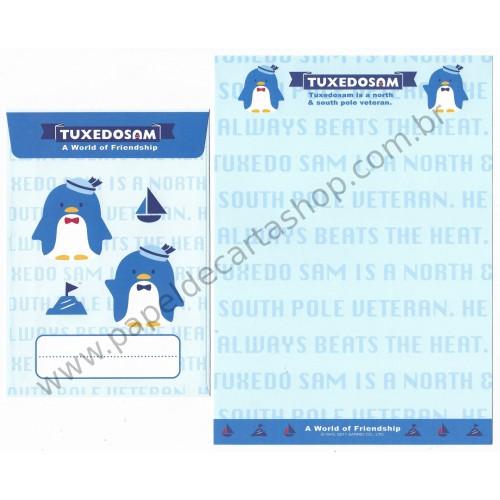 Ano 2011. Conjunto de Papel de Carta Tuxedosam Friendship4 Sanrio