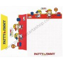 Ano 2011. Conjunto de Papel de Carta Patty & Jimmy FV8 Sanrio