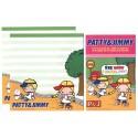 Ano 2012. Kit 4 Conjuntos de Papel de Carta Patty & Jimmy P&J 4RS Sanrio