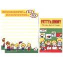 Ano 2012. Kit 4 Conjuntos de Papel de Carta Patty & Jimmy P&J 4VM Sanrio