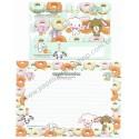 Ano 2006. Conjunto de Papel de Carta Sugarbunnies Mint Sanrio