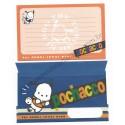 Ano 1996. Conjunto de Papel de Carta Pochacco GIKP Vintage Sanrio