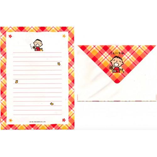 Ano 1996. Conjunto de Papel de Carta Minna no Tabo CLL Antigo (Vintage)