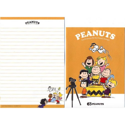 Conjunto de Papel de Carta 65 Peanuts - Peanuts Japão 2015