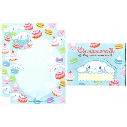 Ano 2013. Conjunto de Mini-Papel de Carta Cinnamoroll Wonder Pup - Sanrio