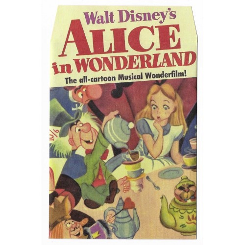Mini Envelope Alice in Wonderland - Wonderfilm