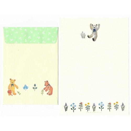Ano 1995. Conjunto de Papel de Carta Honeyfield CAZ Sanrio