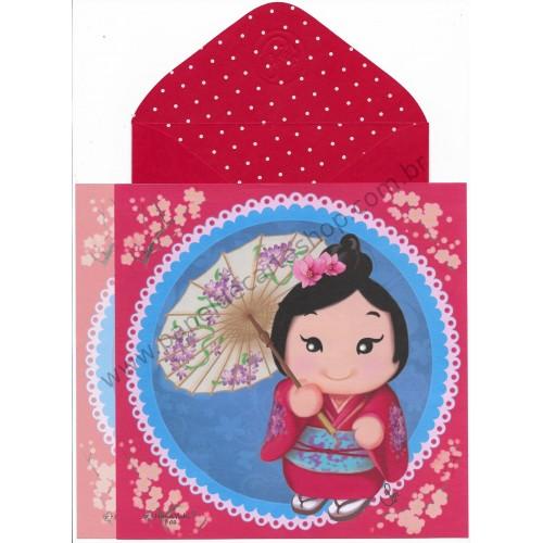 Ano 2017 Ma Tuzi Conjunto de Papel de Carta Coleção Hana Yuki 02