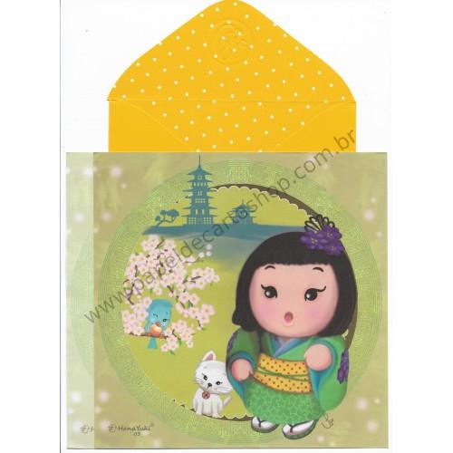Ano 2017 Ma Tuzi Conjunto de Papel de Carta Coleção Hana Yuki 03