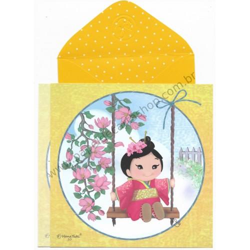 Ano 2017 Ma Tuzi Conjunto de Papel de Carta Coleção Hana Yuki 10