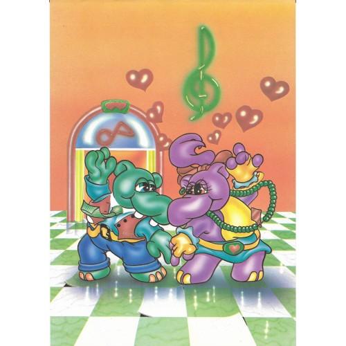 Papel de Carta ANTIGO A4 HIPPO Dancing