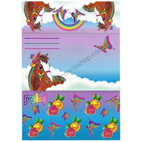 Postalete Antigo Importado Lisa Frank HORSE