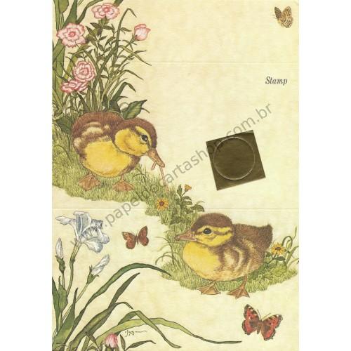 Postalete Antigo Importado Yellow Bird - Current