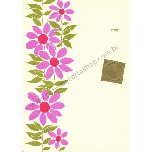 Postalete Antigo Importado Beautiful Flower - Current