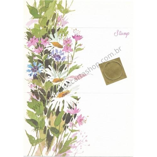 Postalete Antigo Importado Colorful Garden - Current