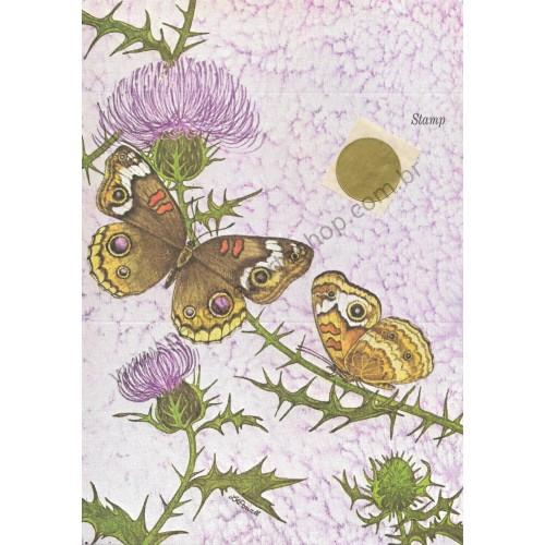 Postalete Antigo Importado Butterfly 2 - Current