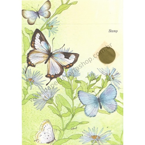 Postalete Antigo Importado Butterfly 3 - Current