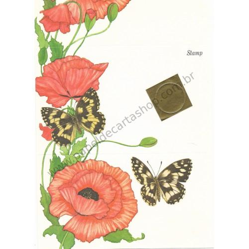 Postalete Antigo Importado Butterfly CVM 1979 - Current
