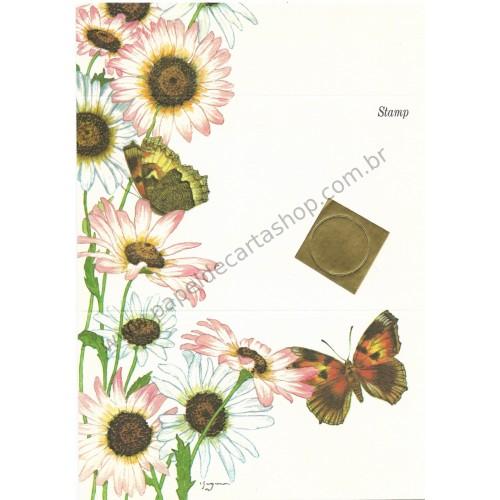 Postalete Antigo Importado Butterfly CRS 1979 - Current