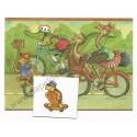 Postalete Antigo Importado Bike Racing - Ambassador