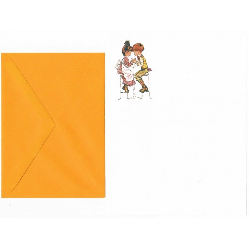Conjunto de Papel de Carta Antigo Sarah Kay 17