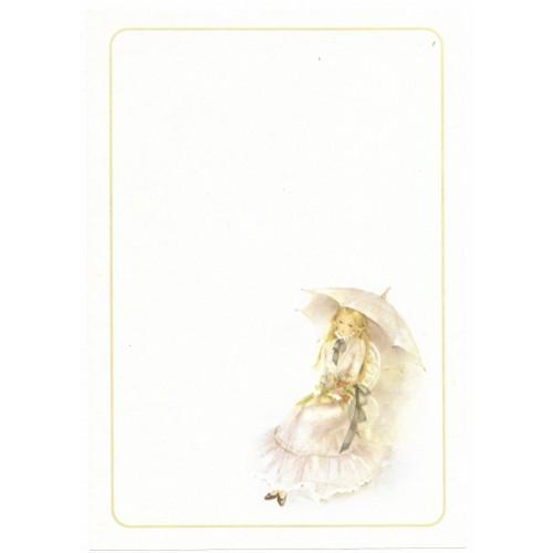 Papel de Carta Julia Médio - 10
