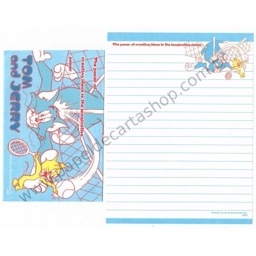 Conjunto de Papel de Carta IMPORTADO Tom & Jerry (s04) 10