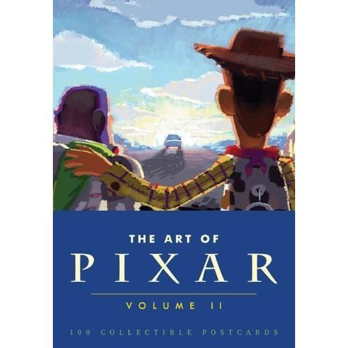 The Art of Pixar II - 100 Collectible Postcards