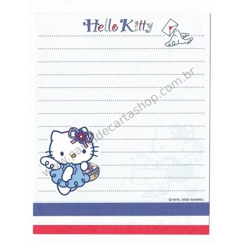 Ano 2002. Kit 3 Notas Hello Kitty French Sanrio
