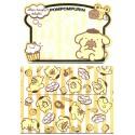 Ano 2015. Kit Mini-Cartão de Mensagem Pompompurin I Sanrio