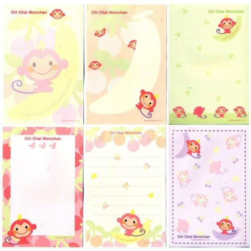 Ano 2004. Kit 6 Notas Chi Chai Monchan Sanrio