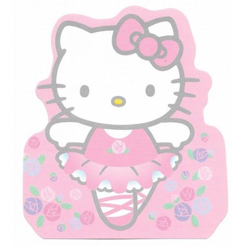 Ano 2001. Nota Hello Kitty Bailarina Sanrio