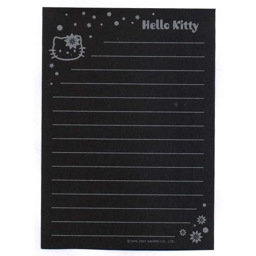 Ano 2001. Nota Hello Kitty Black Vintage Sanrio
