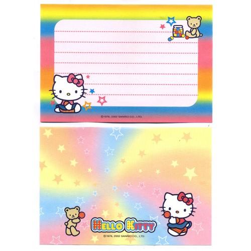 Ano 2002. Kit 2 Notas Hello Kitty Pop Sanrio