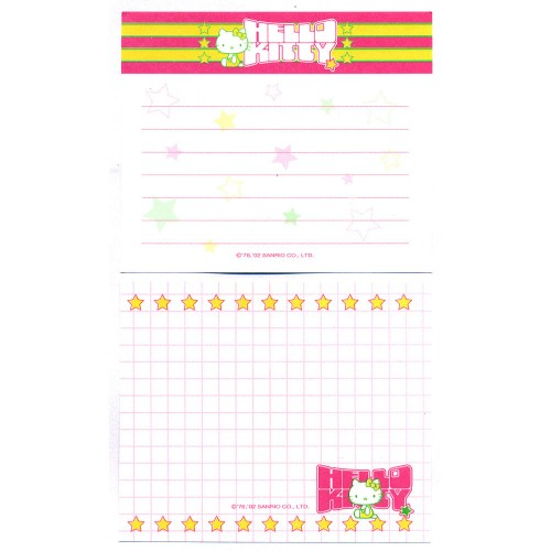 Ano 2002. Kit 2 Notas Hello Kitty Sanrio