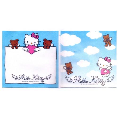 Ano 1997. Kit 2 Notas Hello Kitty Angel Vegetal Vintage Sanrio