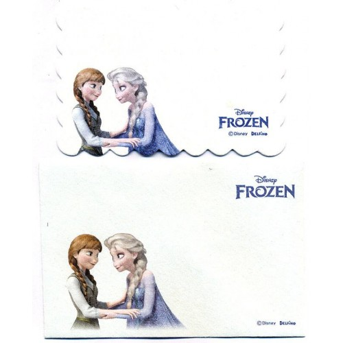 Conjunto de Mini-Cartão Importado Disney FROZEN Japan